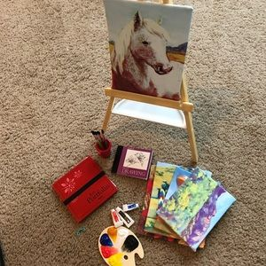 American Girl: Saige's Painting Set (includes box)